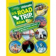 National Geographic Kids Ultimate U. S. Road Trip   NT03-0232  - Games Toys & Books