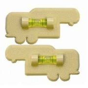 Prime Products Fifth Wheel Level Colonial White   NT03-0416  - Chocks Pads and Leveling - RV Part Shop USA