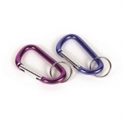 Camco Biner Clips Bilingual Carabiner - Set of 2  NT03-1456  - Camping and Lifestyle - RV Part Shop USA
