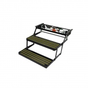 Lippert Revolution Double Electric Step (9010000464)  NT04-0138  - RV Steps and Ladders - RV Part Shop USA