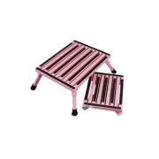 Safety Step Step - Large Folding Pink   NT04-0149  - Step and Foot Stools - RV Part Shop USA