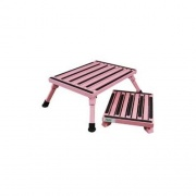 Safety Step Small Folding Step/Pink   NT04-0166  - Step and Foot Stools - RV Part Shop USA