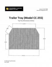 Stromberg-Carlson Trailer Tray   NT05-0019  - RV Storage - RV Part Shop USA