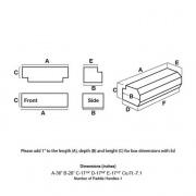 UWS Tool Box 36W Black 36L X 18H X   NT05-1922  - Tool Boxes - RV Part Shop USA