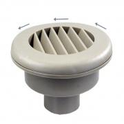 """JR Products 2\\"""" Heat Vent No Damper - Tan   NT08-0192  - Furnaces"""