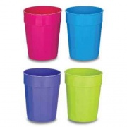 B&R Plastics 22 Oz .Cup 4-pack Assorted C   NT14-1295  - Kitchen - RV Part Shop USA