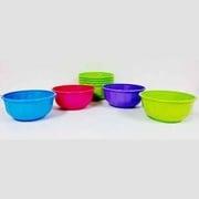 B&R Plastics 28 Oz Bowls 4-Pack Assorted Colo   NT14-1296  - Kitchen