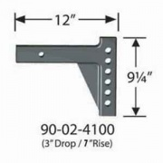 "Equalizer/Fastway Equalizer Adjustable Shank-3\""Drop/7\\""Rise   NT14-2950  - Weight Distributing Hitches - RV Part Shop USA"