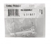 """Tow Ready Pin & Chain Assembly For Pintle Hooks 1/4\\"""" Dia.   NT14-7242  - Pintles - RV Part Shop USA"""