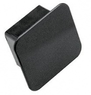 """Tow Ready Receiver Tube Cover 2\\"""" Square Black   NT14-7328  - Receiver Covers - RV Part Shop USA"""