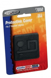 """DrawTite Rubber Economy Receiver Tube Cover. D Logo 2\\""""   NT14-7339  - Hitch Extensions - RV Part Shop USA"""