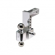 """Equalizer/Fastway Fastway 4\\"""" Adjustable Pin Style Ball Mount   NT14-8024  - Ball Mounts - RV Part Shop USA"""