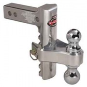 """Trimax Adjustable Tow Hitch 6\\""""Drop   NT14-8840  - Ball Mounts - RV Part Shop USA"""
