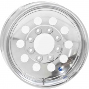 Americana 15X6 Trailer Wheel Mini Modular 5H-4.5 Aluminum   NT17-0364  - Wheels and Parts