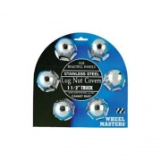 "Wheel Masters 6Pk 1-1/2\"" Stainless Steel Lug Nut Covers   NT17-1922  - Wheels and Parts - RV Part Shop USA"