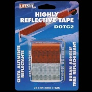 Top Tape Reflective Tape Red/Silver   NT18-0379  - Towing Electrical - RV Part Shop USA