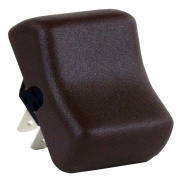 JR Products Replacement On-Off Rocker Switch Brown   NT19-0152  - Switches and Receptacles
