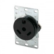 Cooper Wiring Flush Receptacle   NT19-0400  - Switches and Receptacles - RV Part Shop USA