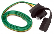 """Tow Ready 4-Flat Car End Connector 30\\"""" \\""""The Knockout\\""""   NT19-0943  - Towing Electrical"""