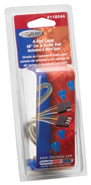"""Tow Ready 4-Flat Plug Loop 48\\"""" Long   NT19-0966  - Towing Electrical"""