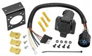 Tow Ready 4-Flat To 7-Way Flat Pin U. S. Car ConnectorAdapter   NT19-1095  - Towing Electrical