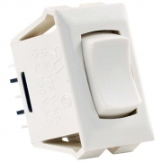JR Products 1 Pk 12V On/Off or On Switch Ivory   NT19-1869  - Switches and Receptacles