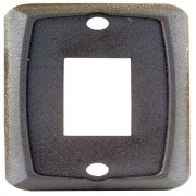 JR Products 1 Pk Single Switch Plate Brown   NT19-1888  - Switches and Receptacles