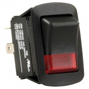 JR Products SPST On/Off Switch - Black   NT19-2006  - Switches and Receptacles - RV Part Shop USA