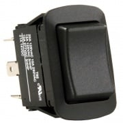 JR Products SPDT On/Off or On Switch Black   NT19-2008  - Switches and Receptacles - RV Part Shop USA