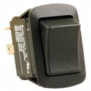 JR Products SPST On/Off Switch - Black   NT19-2022  - Switches and Receptacles - RV Part Shop USA