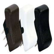 JR Products DPST On/On Switch White   NT19-2096  - Switches and Receptacles - RV Part Shop USA