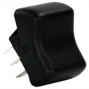 JR Products DPST On/On Switch Black   NT19-2098  - Switches and Receptacles - RV Part Shop USA