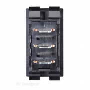 RV Designer 10A Momentary/On/Off or On Switch Black   NT19-2457  - Switches and Receptacles