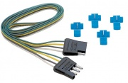 """Tow Ready 4-Flat Plug Loop 18\\"""" Long   NT19-3009  - Towing Electrical"""