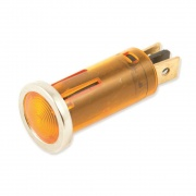 "Wirthco Indicator Light 1/2\"" Round Amber   NT19-3670  - Switches and Receptacles - RV Part Shop USA"