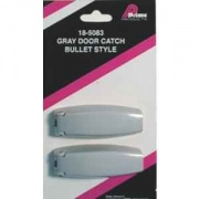 Prime Products 1 Pair Bullet Style Catch Gray   NT20-0648  - RV Storage
