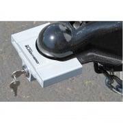 Clyde T Johnson Trailer Coupler Lock   NT20-0754  - Hitch Locks