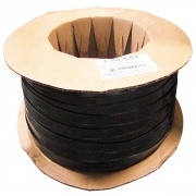 "JR Products 1\"" X1000' Vinyl Insert Black   NT20-1438  - Hardware"