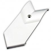 "JR Products 3\\"" Corner Slide-O Cap Polar White   NT20-1455  - Slideout Parts"