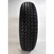 Americana 205/75D Tire15 C/5H Trailer Wheel Mini Modular Silv   NT21-0032  - Trailer Tires - RV Part Shop USA