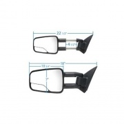 K-Source 1 Pair Extendable Towing Mirrors   NT23-0523  - Mirrors