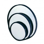 "K-Source 3 3/4\"" Round Spot   NT23-0583  - Mirrors"