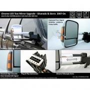 Pro FX Tow Mirror Set 07-14 Silverado/Sierra Round   NT23-5544  - Towing Mirrors - RV Part Shop USA