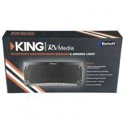 King Controls Bluetooth Speaker/Light Standard - Black   NT24-4871  - Audio CB & 2-Way Radio