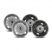 """Pacific Dualies 2F & 2R Lug Wheel Skins 16\\""""   NT25-0880  - Wheels and Parts"""