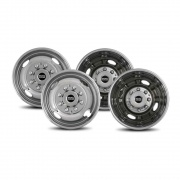 Pacific Dualies 2F & 2R Lug Wheel Skins 16.5   NT25-0883  - Wheels and Parts - RV Part Shop USA