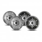 Pacific Dualies 2F & 2R Lug Style Isuzu 6 Lug   NT25-0889  - Wheels and Parts - RV Part Shop USA