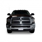 Putco Stainless Steel Black Punch Style Bumper   NT25-1467  - Grille Protectors - RV Part Shop USA