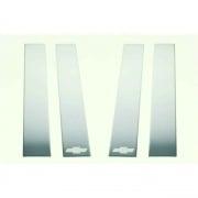 Putco Pillar Trim 14-15 Silverado   NT25-1631  - Chrome Trim - RV Part Shop USA