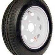 Americana 205/75D Tire15 C/5H Trailer Wheel Spoke White Striped   NT25-1837  - Trailer Tires - RV Part Shop USA